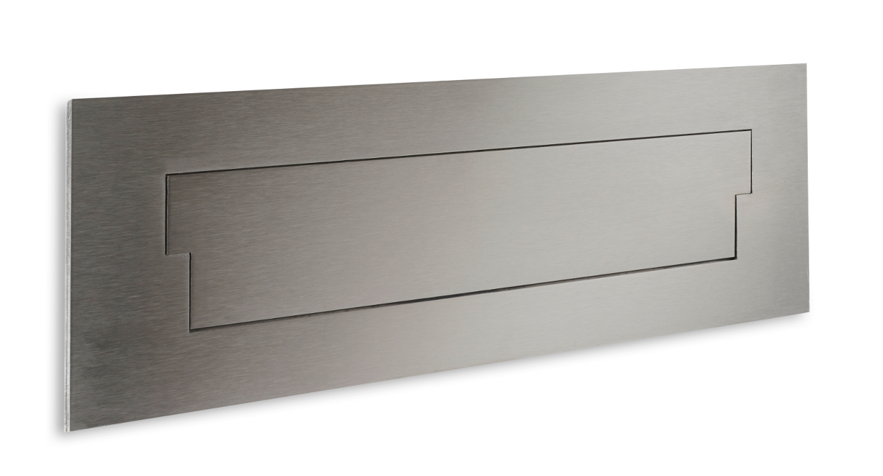 stainless steel letterplate