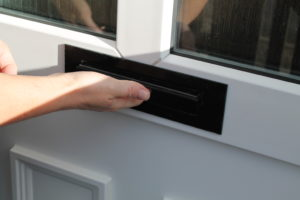 fitting a letterplate eco